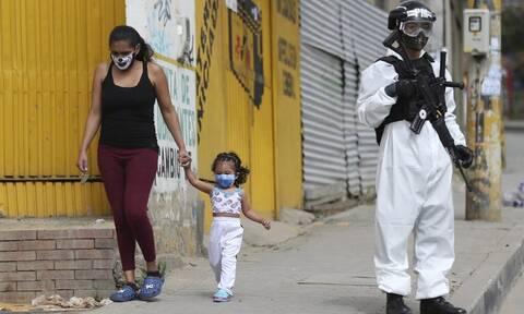 Κορονοϊός - Κολομβία: Ξεπέρασαν τους 25.000 οι θάνατοι – Πάνω από 800.000 τα κρούσματα