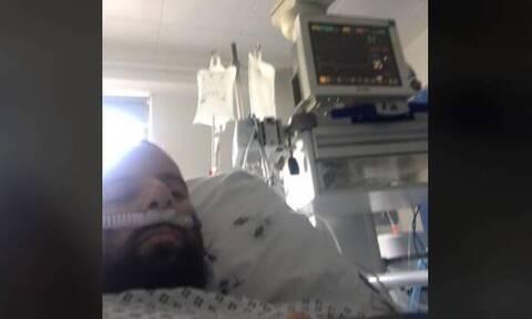 Κορονοϊός - Ανατριχίλα! Έλληνας ξυπνάει από κώμα και συγκλονίζει με όσα λέει