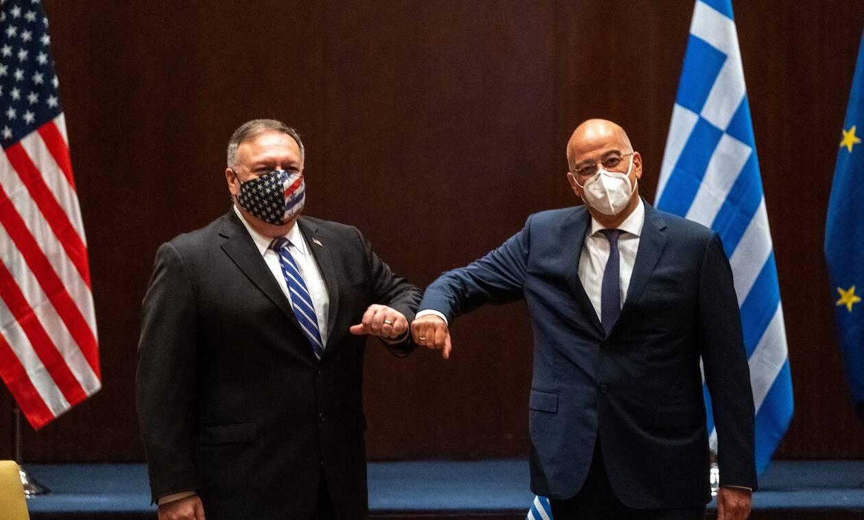 Ο Πομπέο στην Ελλάδα: Αυτές είναι οι στρατηγικές προτεραιότητες των ΗΠΑ στην Ελλάδα