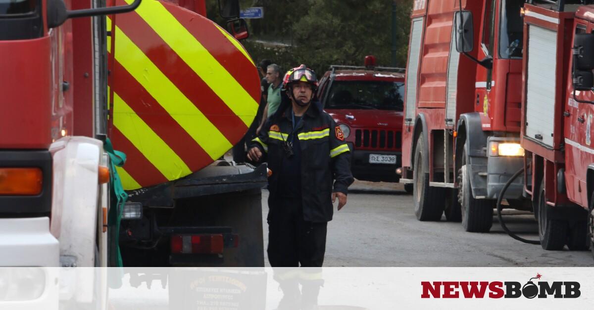 Φωτιά ΤΩΡΑ στην Παλλήνη – Newsbomb – Ειδησεις