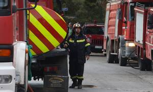 Φωτιά ΤΩΡΑ στην Παλλήνη