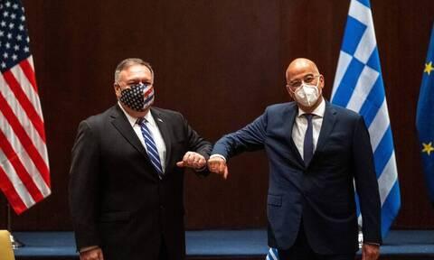 Помпео: Мы разделяем общую стратегию с Грецией