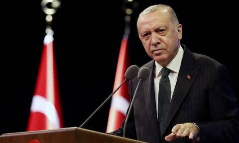 Μεγαλομανής Ερντογάν: Η Τουρκία δεν είναι μουσαφίρης της Μεσογείου αλλά ιδιοκτήτης