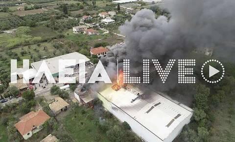 Πύργος: Παρανάλωμα του πυρός επιχείρηση ειδών υγιεινής