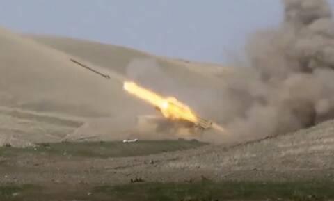 Αρμενία - Αζερμπαϊτζάν: Φόβοι για ολοκληρωτικό πόλεμο - Βίντεο σοκ από τις συγκρούσεις