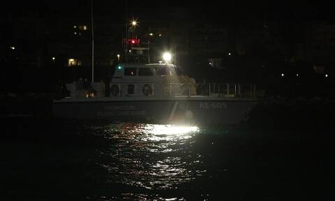 Κακοκαιρία Μυτιλήνη: Τρεις αγνοούμενοι σε ναυάγιο αλιευτικού σκάφους
