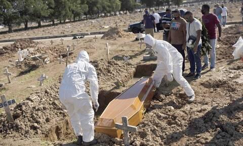 Κορονοϊός στη Βραζιλία: 317 θάνατοι και 13.155 κρούσματα μόλυνσης σε 24 ώρες