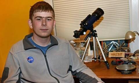 Μαθητής ανακάλυψε πλανήτη 6.9 φορές μεγαλύτερο από τη Γη!