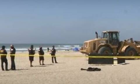 Τραγωδία στην παραλία: Οδοστρωτήρας πάτησε γυναίκα που κοιμόταν