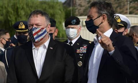 В Греции прошли массовые протесты в связи с визитом в Салоники госсекретаря США Майкла Помпео