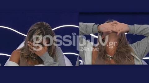 Big Brother: Αποκλειστικά πλάνα από το ξέσπασμα της Δανέζη για τον πατέρα της!
