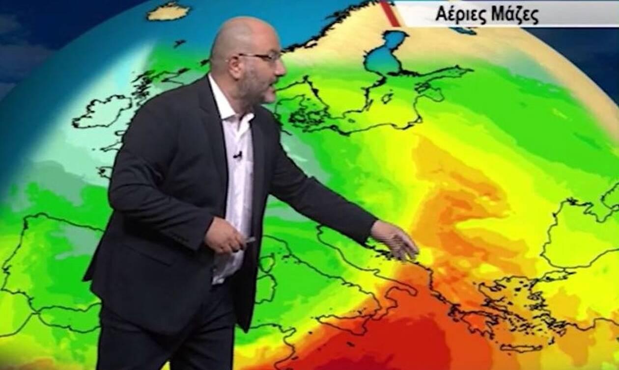 Απόλυτη καιρική τρέλα! Απ' τον κυκλώνα στο συννεφόκαμα. Προειδοποίηση Αρναούτογλου