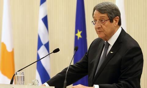 Αναστασιάδης: «Οι κυρώσεις εναντίον της Τουρκίας δεν είναι αυτοσκοπός»