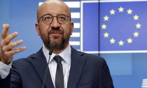 Μισέλ για Τουρκία: «Στο τραπέζι όλες οι επιλογές για να υπερασπιστούμε τα νόμιμα συμφέροντα της ΕΕ»