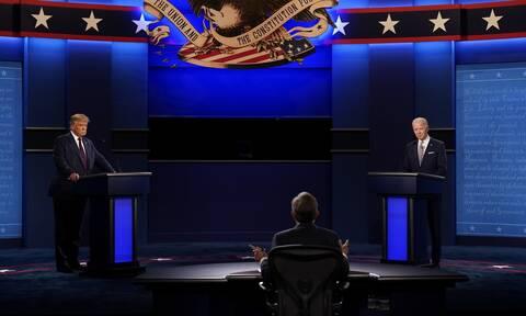 ΗΠΑ: 100 εκατ. τηλεθεατές αναμένεται να παρακολουθήσουν το ντιμπέιτ Τραμπ-Μπάιντεν
