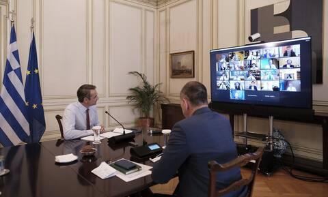 Συνεδριάζει σήμερα μέσω τηλεδιάσκεψης το Υπουργικό Συμβούλιο