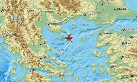Σεισμός νότια του Αγίου Όρους (pics)