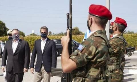 Μάικ Πομπέο: Χαιρετίζω το ρόλο της Ελλάδας ως πόλο σταθερότητας στην αν.Μεσόγειο