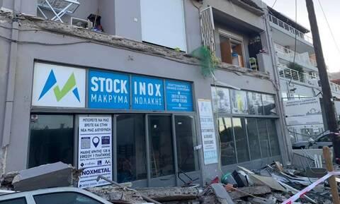 Κρήτη: Κατέρρευσε μπαλκόνι στο Ρέθυμνο - Από τύχη δεν υπήρξαν τραυματισμοί