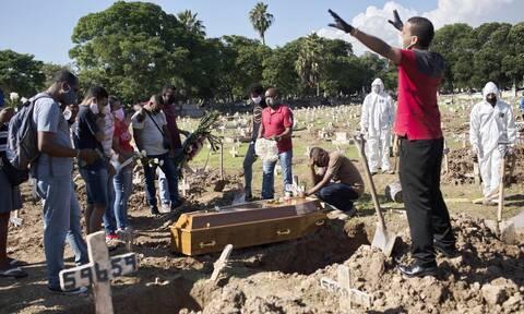 Κορονοϊός στη Βραζιλία: Πάνω από 1.000 νεκροί και 33.413 κρούσματα σε 24 ώρες
