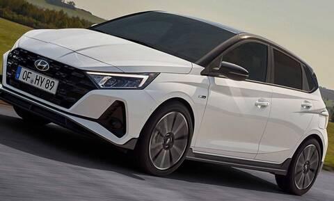 Hyundai i20 N Line: Σπορ επεμβάσεις στην εμφάνιση