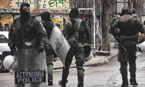 Εξάρχεια: Οι πρώτες εικόνες από την μεγάλη αστυνομική επιχείρηση