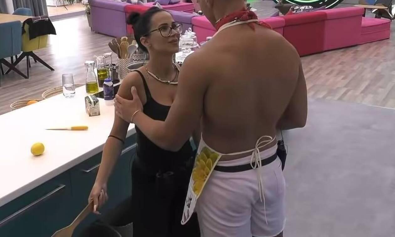 Big Brother: «Έπεσαν» τα πρώτα φιλιά στο παιχνίδι (photos)