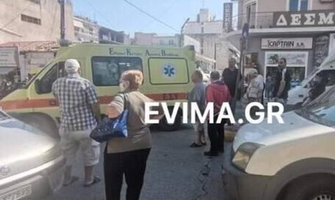 Χαλκίδα: ΙΧ αυτοκίνητο παρέσυρε ηλικιωμένη γυναίκα (pics)