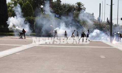 Πανεκπαιδευτικό συλλαλητήριο: Επεισόδια στο κέντρο της Αθήνας
