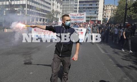 Ολοκληρώθηκε το πανεκπαιδευτικό συλλαλητήριο - Σημειώθηκαν επεισόδια με μολότοφ