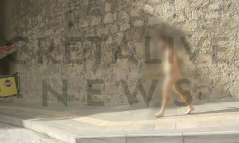 Αναστάτωση στο Ηράκλειο: Διέσχισε ολόγυμνος τη μισή πόλη!