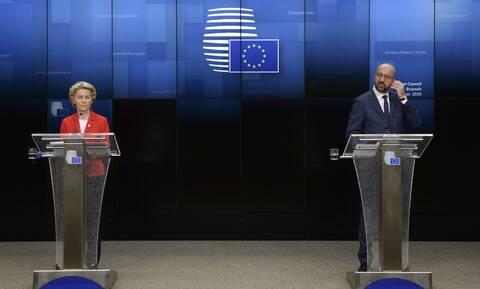 Σύνοδος Κορυφής - Κείμενο συμπερασμάτων: Πλήρης αλληλεγγύη σε Ελλάδα και Κύπρο