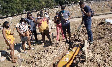 Κορονοϊός στη Βραζιλία: 728 θάνατοι και πάνω από 36.000 κρούσματα σε 24 ώρες