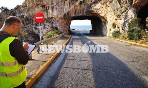 Αυτοψία Newsbomb.gr στις Τρύπες Καραμανλή: Κίνδυνος σοβαρού ατυχήματος από κατολίσθηση