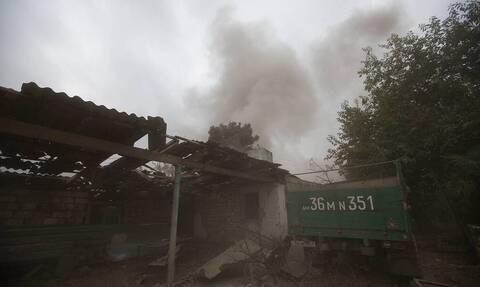 Минобороны Армении сообщило, что азербайджанские ВС обстреляли Степанакерт