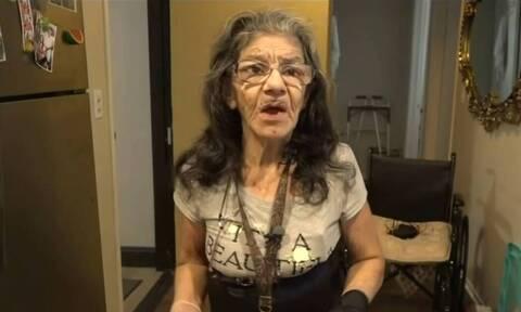 Γιαγιά… νίντζα – Πλάκωσε στο ξύλο κλέφτη που μπήκε σπίτι της (video)