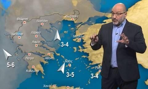 Καιρός: Προ των πυλών το συννεφόκαμα! Η ενημέρωση του Αρναούτογλου