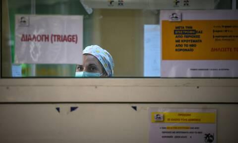 Κορονοϊός: Δύο θάνατοι μέσα σε λίγες ώρες - Νεκρή 85χρονη στο «Σωτηρία»