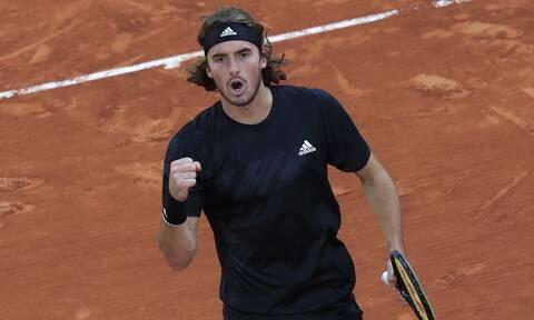Στέφανος Τσιτσιπάς: Αυτός είναι ο αντίπαλος στους «16» του Roland Garros