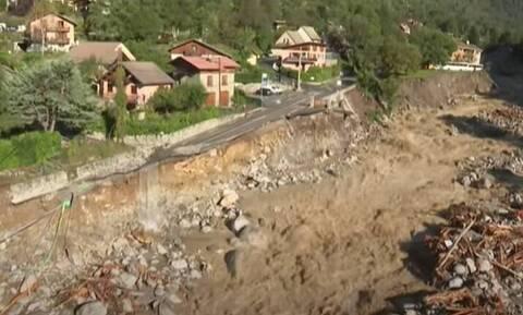 Καταιγίδα «Άλεξ»: Συγκλονίζουν οι εικόνες από τις πλημμύρες σε Γαλλία – Ιταλία