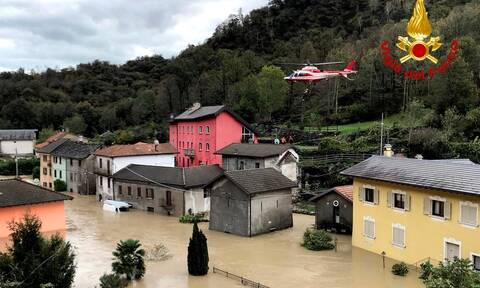 Πλημμύρες και κατολισθήσεις σε Γαλλία και Ιταλία: Τουλάχιστον πέντε νεκροί