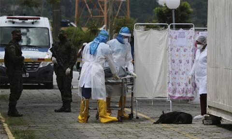 Βραζιλία: 365 θάνατοι και 8.456 κρούσματα μόλυνσης σε 24 ώρες