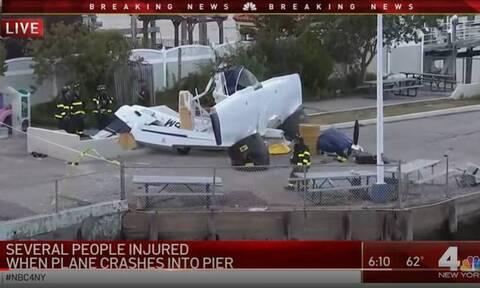 Νέα Υόρκη: Υδροπλάνο έπεσε σε προβλήτα - Ένας νεκρός