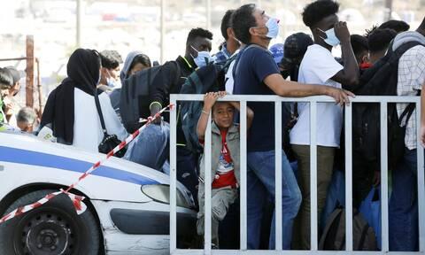 Μυτιλήνη: Αναχωρούν 850 μετανάστες και πρόσφυγες για την ηπειρωτική χώρα