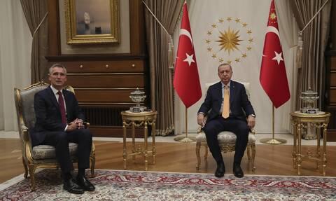 Στόλτενμπεργκ: Καλή η συνάντηση με Ερντογάν - Να δημιουργηθεί χώρος για την διπλωματία