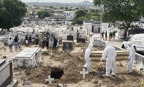 Κορονοϊός στη Βραζιλία: 323 θάνατοι και 11.946 κρούσματα μόλυνσης σε 24 ώρες