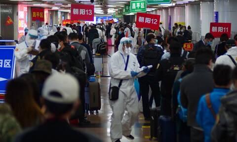 Κορονοϊός στην Κίνα: 12 «εισαγόμενα» κρούσματα μόλυνσης σε 24 ώρες