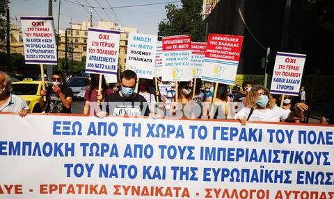 Ρεπορτάζ Newsbomb.gr: Χωρίς εντάσεις η πορεία των εκπαιδευτικών στο κέντρο της Αθήνας