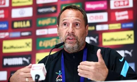 «Φόρτωσε» ο προπονητής της Εθνικής Ελλάδας με ερώτηση για τον Σιόβα