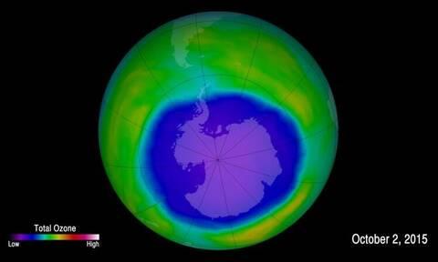 Τεράστια τρύπα του όζοντος πάνω από την Ανταρκτική – «Συναγερμός» από τους επιστήμονες